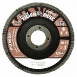 Weiler 50565 Tiger Disc Angled Style Flap Discs