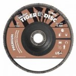 Weiler 50583 Tiger Disc Angled Style Flap Discs