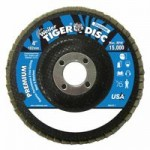 Weiler 50594 Tiger Disc Angled Style Flap Discs