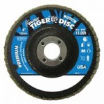 Weiler 50595 Tiger Disc Angled Style Flap Discs