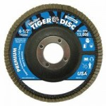 Weiler 50606 Tiger Disc Angled Style Flap Discs