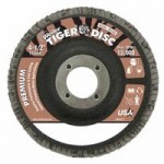 Weiler 50663 Tiger Disc Flat Style Flap Discs