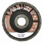 Weiler 50664 Tiger Disc Flat Style Flap Discs