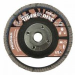 Weiler 50669 Tiger Disc Flat Style Flap Discs