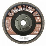 Weiler 50670 Tiger Disc Flat Style Flap Discs