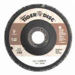 Weiler 50674 Tiger Disc Flat Style Flap Discs