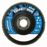 Weiler 50695 Tiger Disc Flat Style Flap Discs