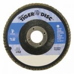 Weiler 50715 Tiger Disc Flat Style Flap Discs