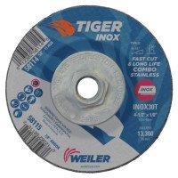 Weiler 58114 Tiger Inox Combo Wheels