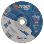 Weiler 58117 Tiger Inox Combo Wheels