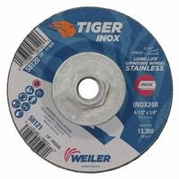 Weiler 58120 Tiger Inox Grinding Wheels