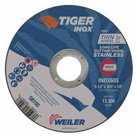 Weiler 58100 Tiger Inox Thin Cutting Wheels