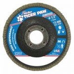 Weiler 51108 Tiger Paw Coated Abrasive Flap Discs