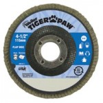 Weiler 51109 Tiger Paw Coated Abrasive Flap Discs
