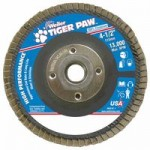 Weiler 51112 Tiger Paw Coated Abrasive Flap Discs
