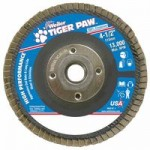 Weiler 51113 Tiger Paw Coated Abrasive Flap Discs