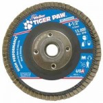 Weiler 51114 Tiger Paw Coated Abrasive Flap Discs
