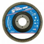 Weiler 51134 Tiger Paw Coated Abrasive Flap Discs