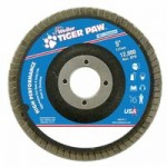 Weiler 51135 Tiger Paw Coated Abrasive Flap Discs