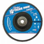 Weiler 51140 Tiger Paw Coated Abrasive Flap Discs