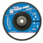 Weiler 51143 Tiger Paw Coated Abrasive Flap Discs