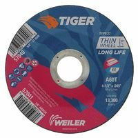 Weiler 57041 Tiger Thin Cutting Wheels