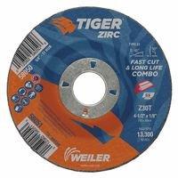 Weiler 58051 Tiger Zirc Combo Wheels