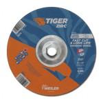 Weiler 58073 Tiger Zirc Grinding Wheels