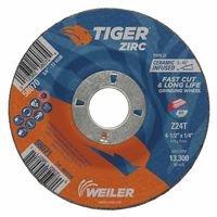 Weiler 58071 Tiger Zirc Grinding Wheels