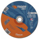 Weiler 58077 Tiger Zirc Grinding Wheels