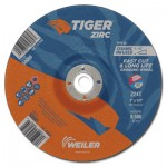 Weiler 58081 Tiger Zirc Grinding Wheels