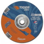 Weiler 58082 Tiger Zirc Grinding Wheels