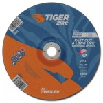 Weiler 58083 Tiger Zirc Grinding Wheels