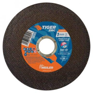 Weiler 58005 Tiger Zirconia Ultracut Thin Cutting Wheels