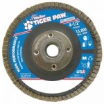 Weiler 51125 Type 29 Tiger Paw Angled Flap Discs