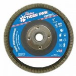 Weiler 51132 Type 29 Tiger Paw Angled Flap Discs