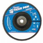 Weiler 51146 Type 29 Tiger Paw Angled Flap Discs