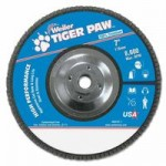 Weiler 51149 Type 29 Tiger Paw Angled Flap Discs