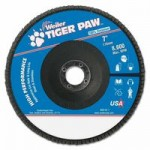 Weiler 51150 Type 29 Tiger Paw Angled Flap Discs