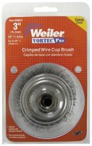Weiler 36033 Vortec Pro Crimped Wire Cup Brushes