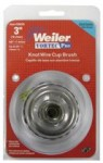 Weiler 36043 Vortec Pro Knot Wire Cup Brushes