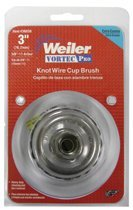 Weiler 36239 Vortec Pro Knot Wire Cup Brushes