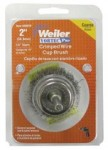 Weiler 36029 Vortec Pro Stem Mounted Crimped Wire Cup Brushes