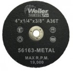 Weiler 56163 Vortec Pro Type 1 Portable Snagging Wheels