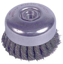 Weiler 94012 Wire Cup Brushes with Internal Nut