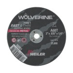 Weiler 56022 Wolverine Thin Cutting Wheels