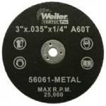 Weiler 56061 Wolverine Thin Cutting Wheels