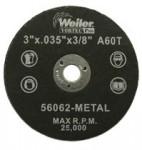 Weiler 56062 Wolverine Thin Cutting Wheels