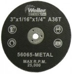 Weiler 56065 Wolverine Thin Cutting Wheels
