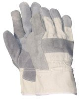Wells Lamont Y3101L Double Leather Palm Gloves